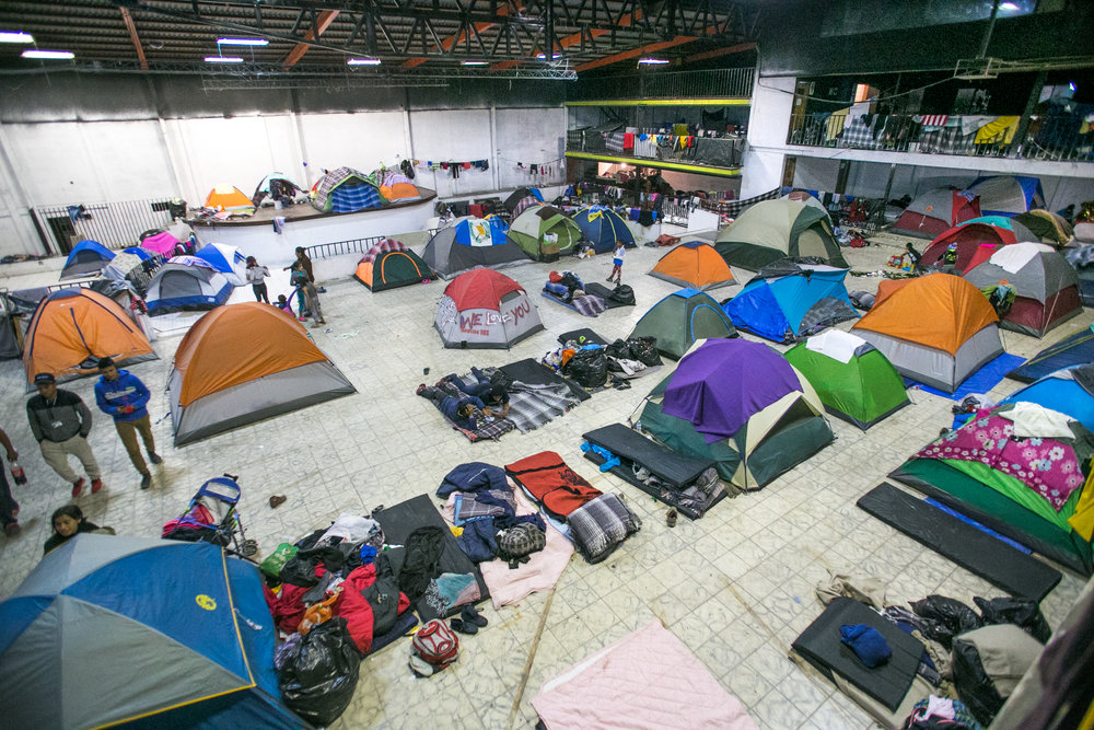 Barretal Refugee Camp - Tijuana, Mexico