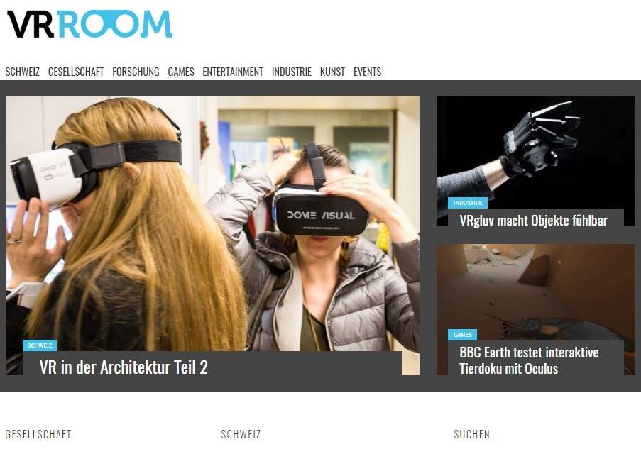 Bericht über Dome Visual auf vr-room.ch - TEIL 2