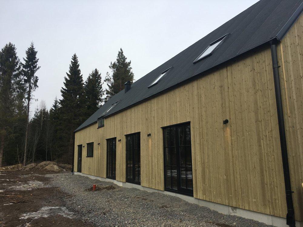 Nybyggnation villa Lena-Ekeby 1