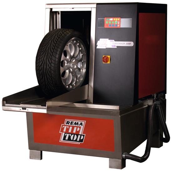 Turbowash - машина за почистване на гуми