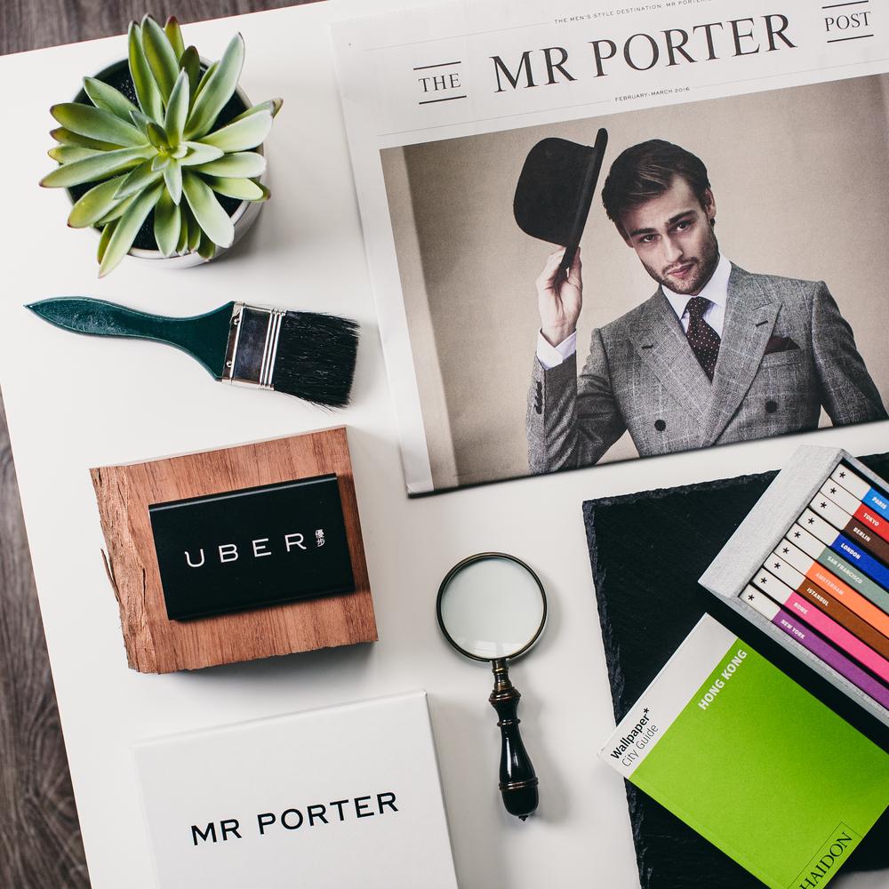 MR PORTER - UBER X ART BASEL promo
