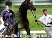 "This photo shows the absolute current mental disconnect between in-hand and riding. This is from the USDF (United States Dressage Federation) Sport Horse Prospect Development Program. Is this horse on the right physically learning what you want from a ride right now, especially in regards to the bit? You bet. And what a complete and utter shame. People blame an awful lot on the ""weight of the rider"" and the ""inherent weakness of the horse"" when, in actuality, they are only riding what they have already created through habitat, handling and hoof care. It is easy to create an amazing riding horse, when you have the amazing skills the gentleman above does. All he needs to do is to better see the 24/7 experience he is giving his horse. Thank goodness for the emergence of equitation science. Hopefully we will all learn something new today that brings us closer to the potential we were born to fulfill while we live our life out here on planet earth."