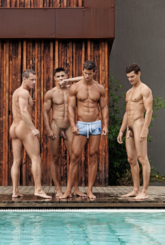 Pool parties nude Men