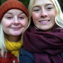 Majken och Ebba.