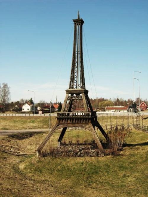 Eiffeltornet i Dala Järna.