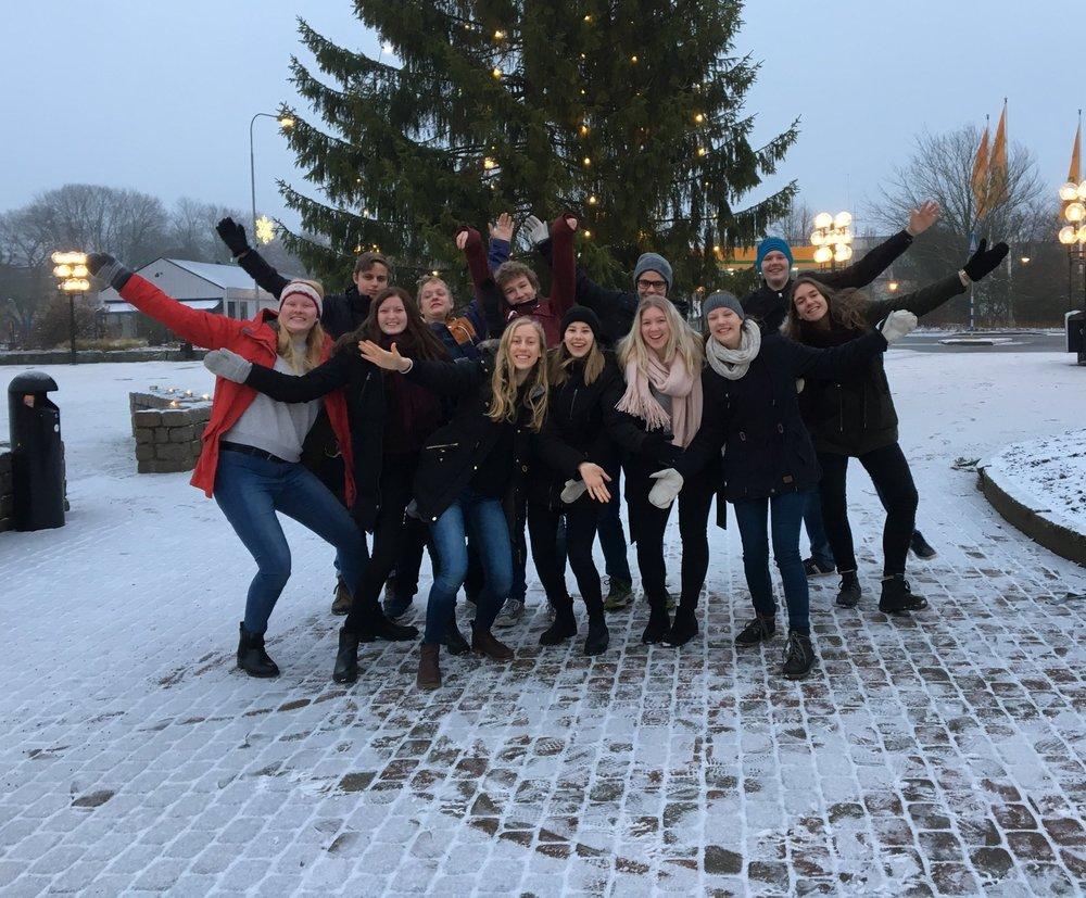 NG-gruppen påAleholmskolan i Sävsjö