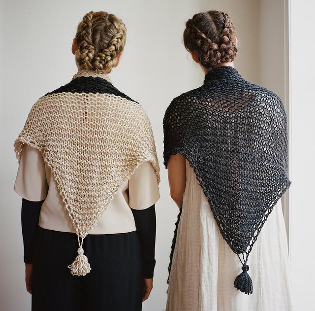 kirkendall shawl - goodnight day