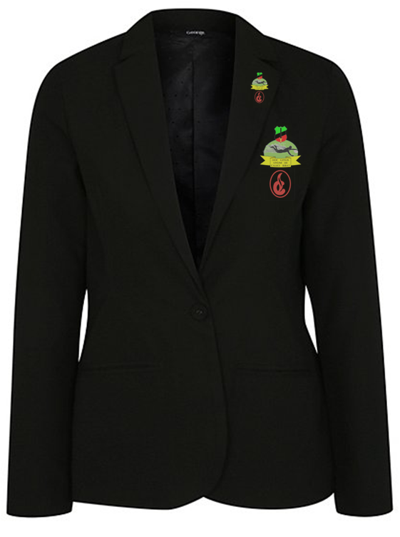 Female Full Colour Badge and Lapel Pin - Corona - NGN 15,000 (Badge) NGN 10,000 (Pin)