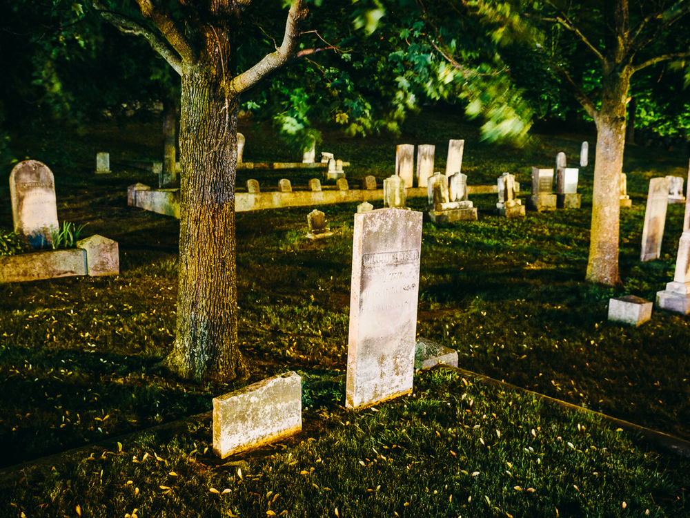 Hillside Cemetery (ca. 1818), Detail, Nashua, New Hampshire, 2014.