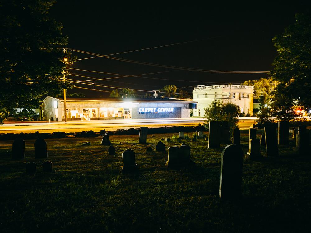 Hillside Cemetery (ca. 1818), Nashua, New Hampshire, 2014.