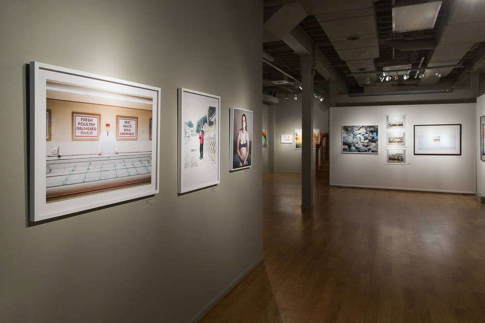 Installation view:  The Center for Fine Art Photography , Fort Collins, Colorado, 2014-2015.