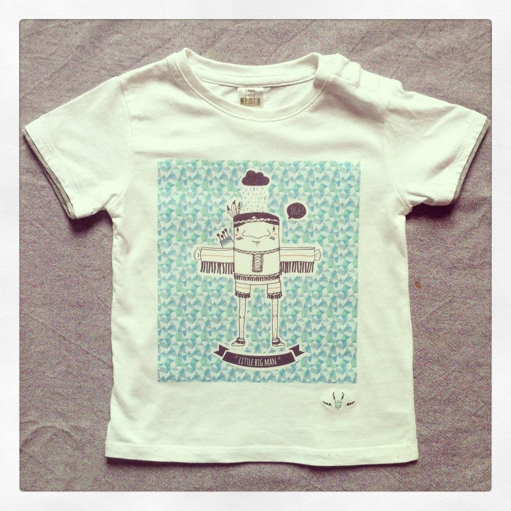 Création d'illustrations pour la marque, cadre et t shirt.
