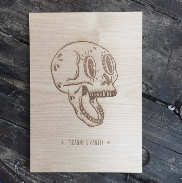 Gravure sur bois, atelier Draft