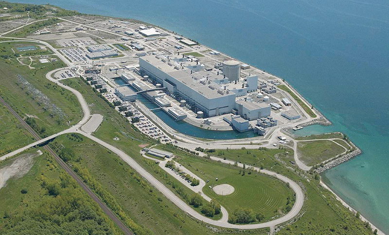Located in the municipality of Clarington in Durham Region, 70 kilometres east of Toronto, Darlington is Ontario Power Generation's newest CANDU nuclear generating station. It provides approximately 20 per cent of Ontario's electricity needs, enough to serve a city of two million people.  SUPPLIED