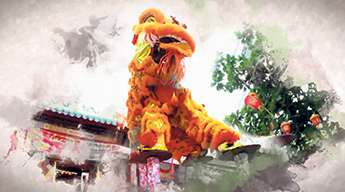 Images of Chinese New Year celebrations are part of the popular holiday greetings video RBC sends to clients and staff. supplied