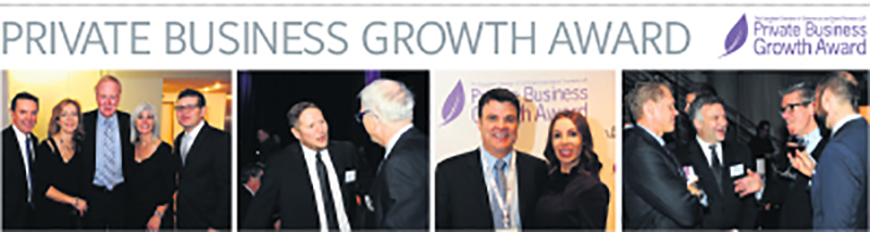 Nearly 200 guests gathered in Toronto on November 25 for the 2015 Private Business Growth Award. Global Relay earned top honours among 10 finalists. IMAGE COMMISSION