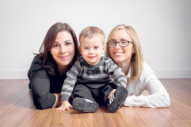 Mavreen David (left) and Shauna Gold (right) have found comfort and understanding in one another as they have both struggled with inflammatory bowel disease: Mavreen has Crohn's disease and Shauna has ulcerative colitis. They both feel lucky to have found treatments that enable them to enjoy their family life. THEPAUHAUS.COM