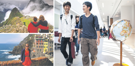 Internationalization efforts at Canadian universities include expanding opportunities for students to study abroad, forging new cross-border research partnerships and attracting international students. supplied