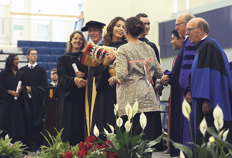 Queen's University welcomes a growing number of students who self-identify as Indigenous. Supplied