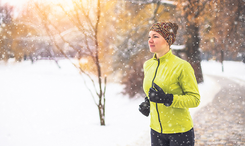In the winter, the difference between the cold outside and overheated stuffy rooms can make our skin more fragile, dry and damaged. istockphoto.com