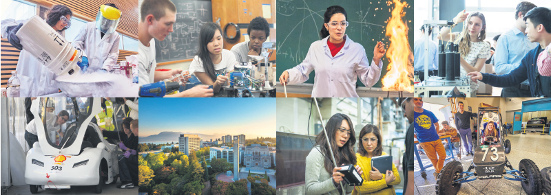 Engineering students at UBC benefit from a holistic approach to learning that allows them to gain the knowledge and skills needed to make a difference. supplied