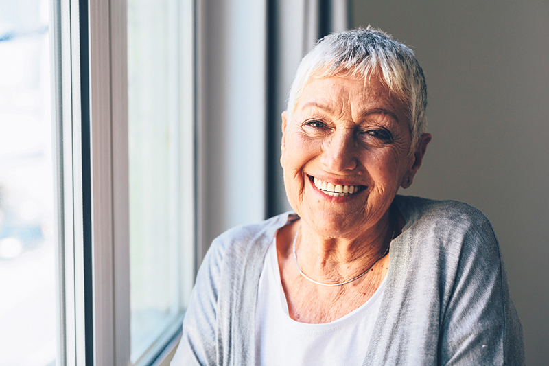 Getting immunized can help enable seniors to live healthy lives and reduce the risk of diseases like shingles. istock.com