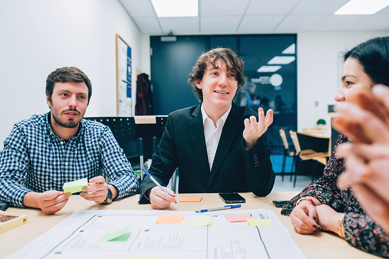 Developing skills in entrepreneurship and technical management in addition to high-level scientific and technical knowledge prepares engineering students for today's fast-paced environment. caroline perron photographies