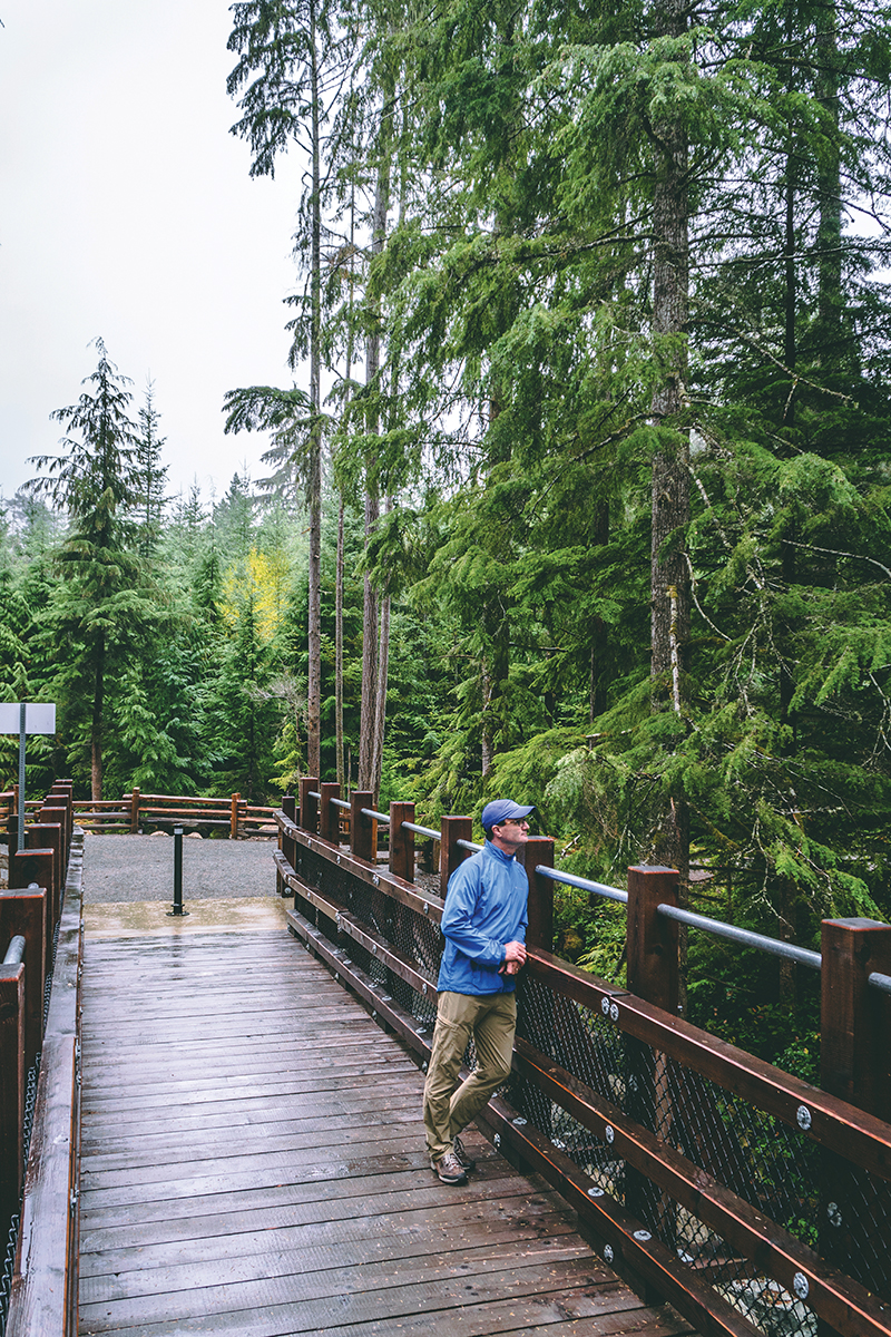 Neil Yeates says that connecting the Trail wasn't the end of our journey – it just marked a transition into the future. Chris Istace
