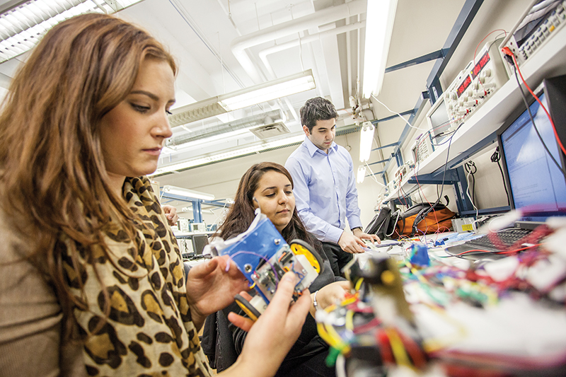 The state-of-the-art research and innovation infrastructure at Concordia University's Gina Cody School of Engineering and Computer Science enables the development of disruptive technologies. supplied