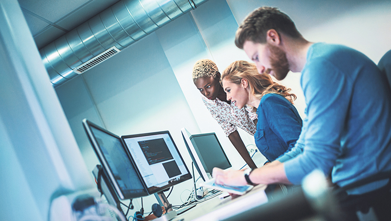 Standardized professional training and more post-secondary sales programs are among the solutions to address the IT sales talent shortage. istock.com