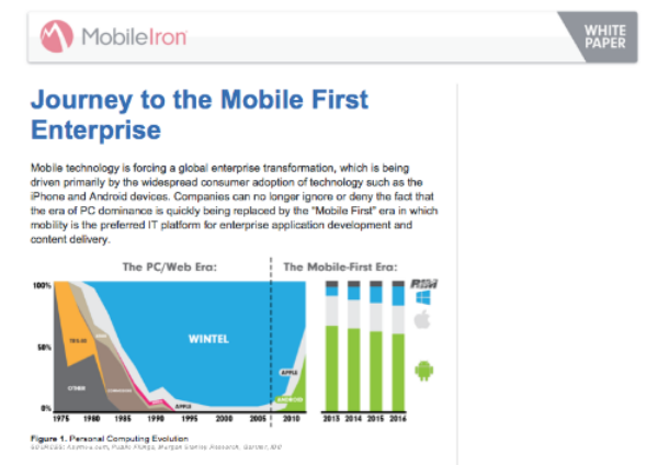 Client: MobileIron / Deliverable: Strategy white paper