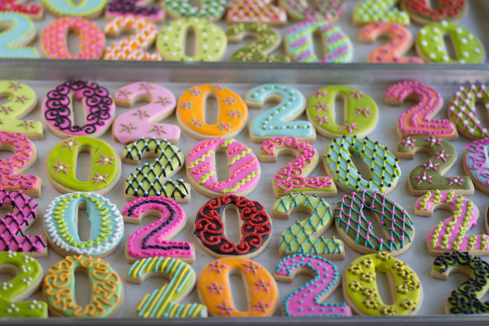 Ab Initio's 20th Anniversary Cookies