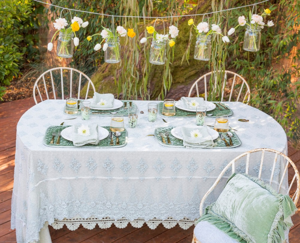 Mint Table Setting