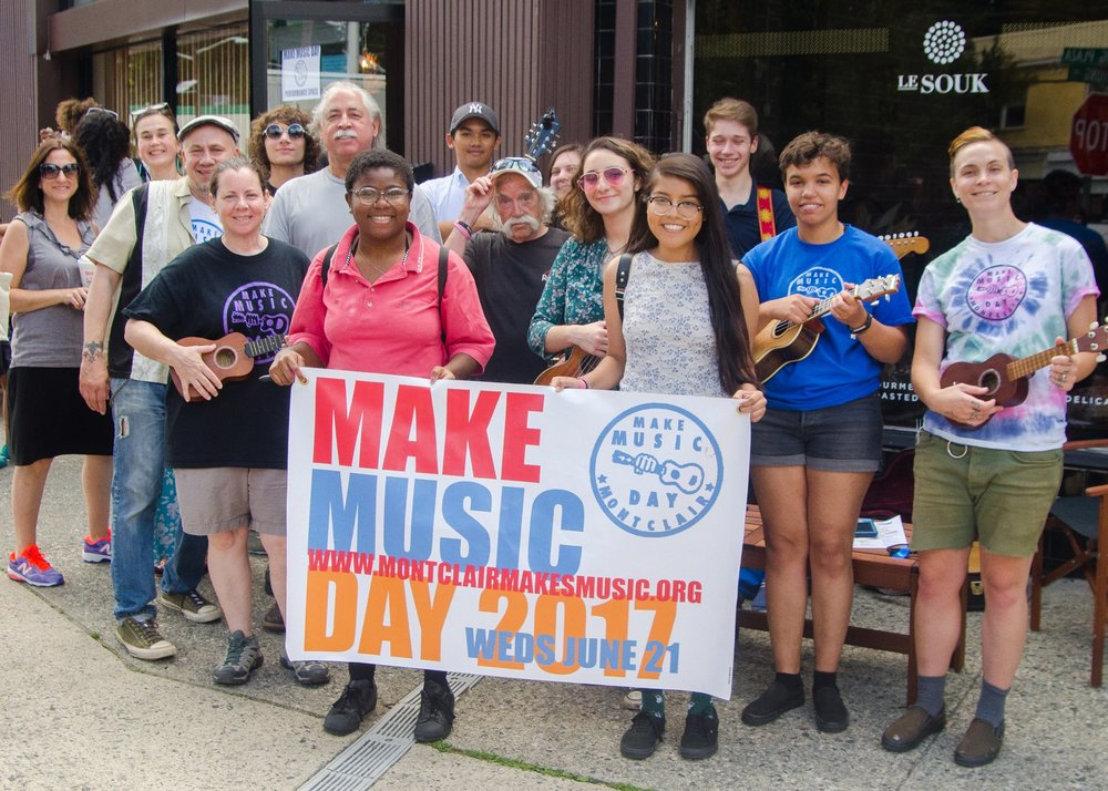 Montclair Make Music Day 2018 - Let's Make Music Montclair! Join us for a very special Montclair Make Music Day event featuring: