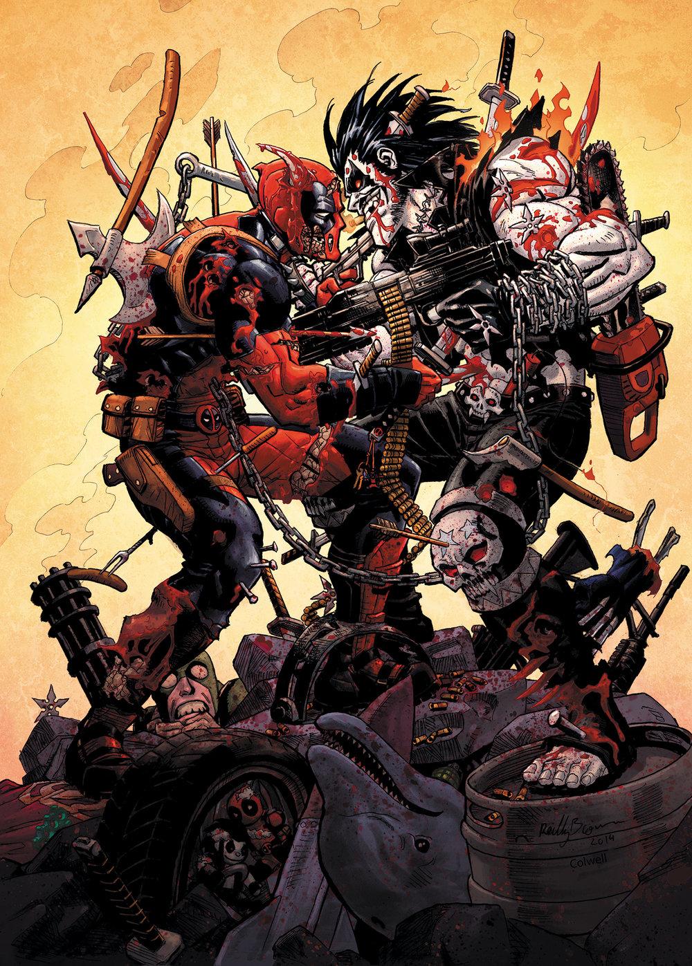 Reilly Deadpool vs Lobo