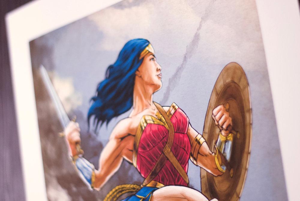 Paul Belliveau Wonder Woman