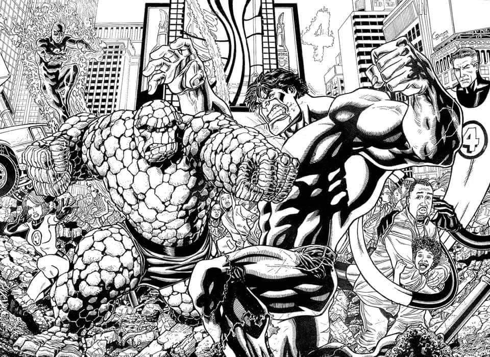 Chris Batista Hulk v Thing