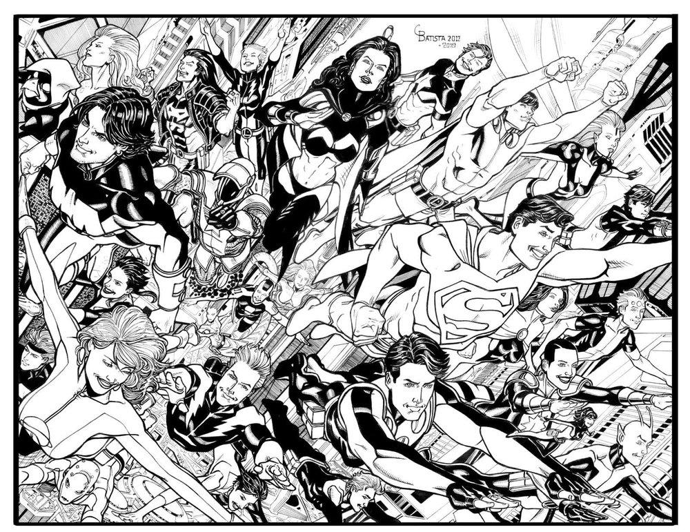 Chris Batista Legion of Super-Heroes