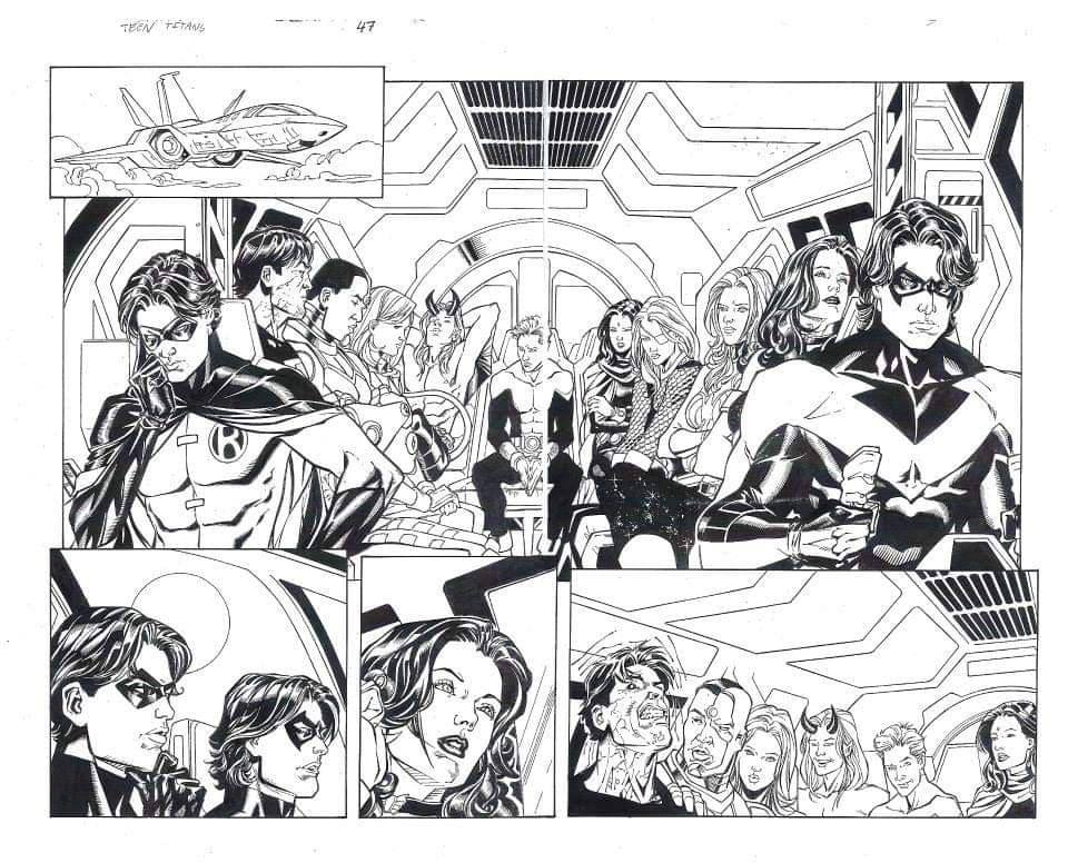Chris Batista Teen Titans