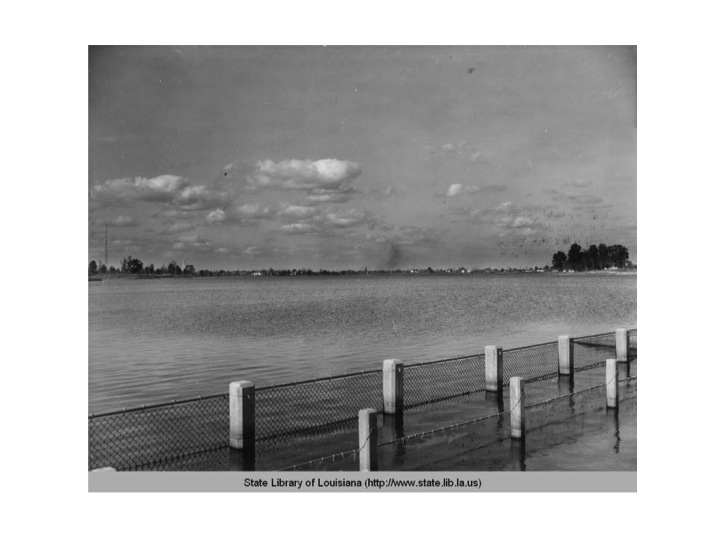 University Lake was dug out by hundreds of men working for the WPA in the 1930s