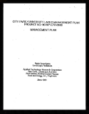 1991 City Park/University Lakes Management Plan: In 1991, Reich Associates wrote a plan for managing the lakes.
