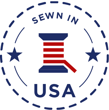 sewn in USA logo