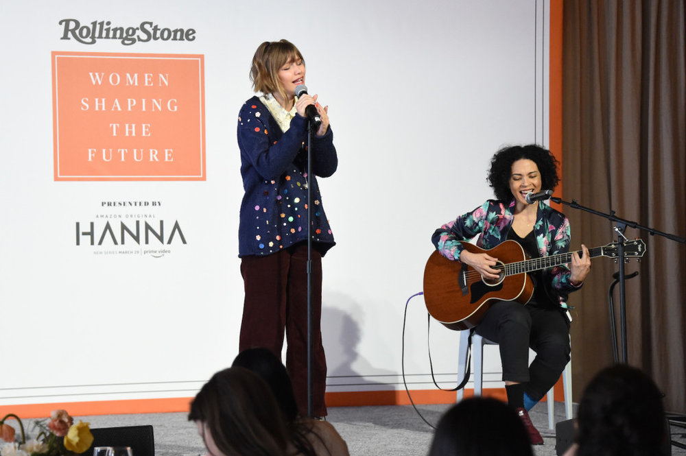 Grace VanderWaal performs at the Rolling Stone's 'Women Shaping The Future' brunch hosted by Amazon Prime Original HANNA held at The Altman Building in New York, NY