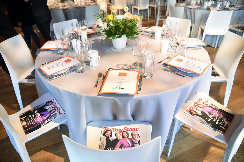 Atmosphere at the Rolling Stone's 'Women Shaping The Future' brunch hosted by Amazon Prime Original HANNA held at The Altman Building in New York, NY