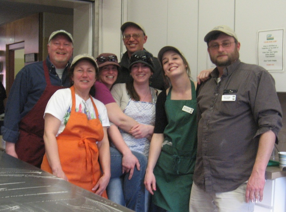 Team Pietree at Community Kettle Dinner