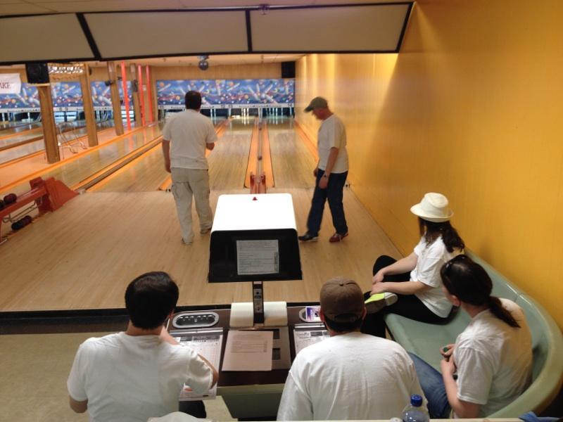 Team Pietree at Bowling For Kids' Sake