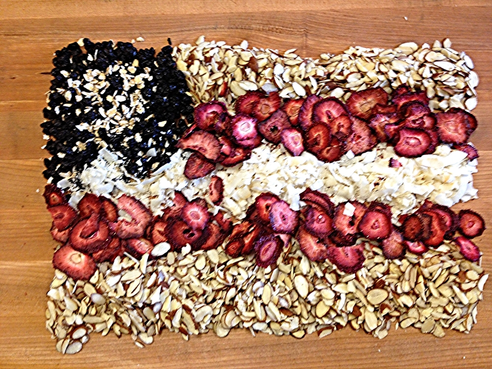 Summer Granola Flag
