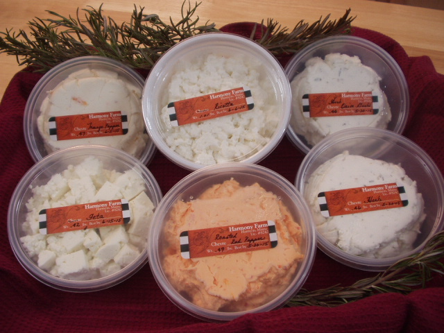 Harmony Farm Cheese Now Available at the Farmstand!