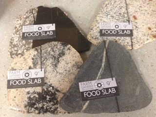 Food Slabs make great gifts! Made with field stones from Pietree! Take a piece of Pietree home with you!
