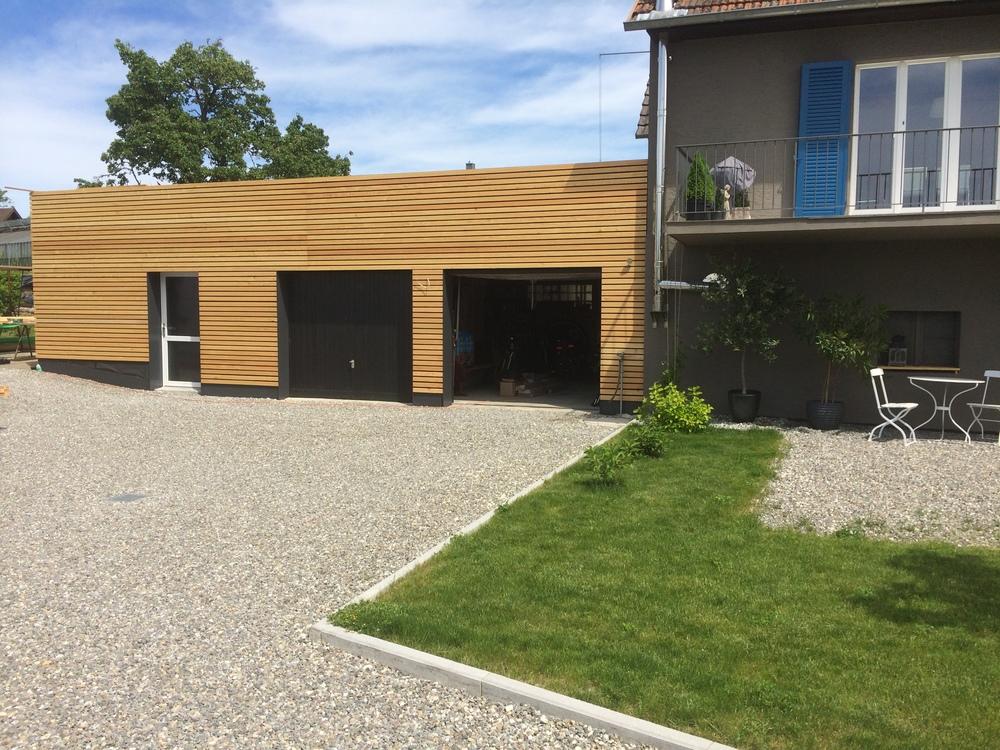 Garagenverkleidung Frick, Reichenau 2014